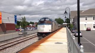 Amtrak Downeaster Brunswick Maine