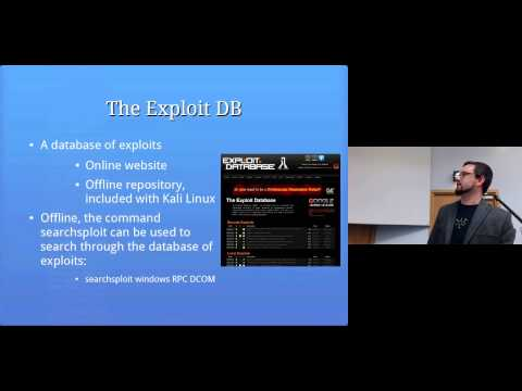 From Scanning to Exploitation: Computer Security Lectures 2014/15 S2
