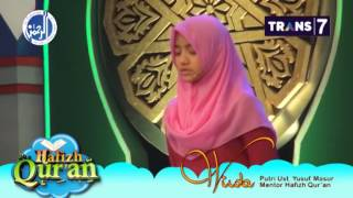 Video Suara Indah Wirda, Putri Ust. Yusuf Masur @HAFIZH QUR'AN download MP3, 3GP, MP4, WEBM, AVI, FLV Oktober 2017