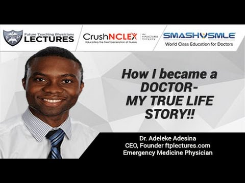 How I became a DOCTOR- MY TRUE LIFE STORY!!