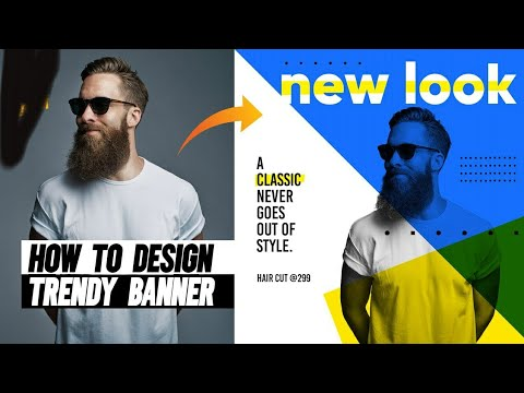 Photoshop Tutorial: latest professional shop banner design in mobile apps thumbnail