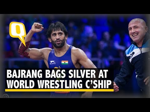 Wrestler Bajrang Punia Dedicates World C'ships Silver to Amritsar Train Accident Victims | The Quint