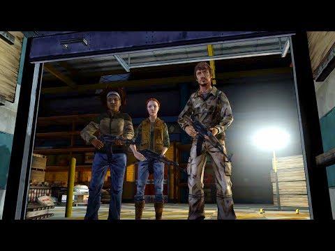 Clementine & Kenny Meet Jane, Reggie and Mike at Howe's Hardware (Walking Dead | Telltale Games)