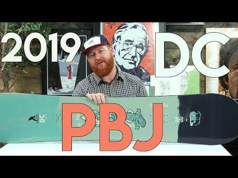2019 DC PBJ Snowboard Review
