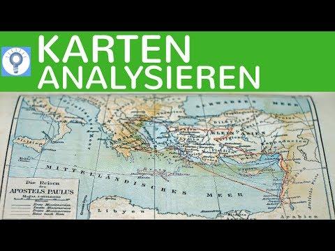 Karten analysieren und interpretieren - Historische & Geografische ...