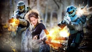 Repeat youtube video Halo Medley - Firefight - Lindsey Stirling and William Joseph | DEVINSUPERTRAMP