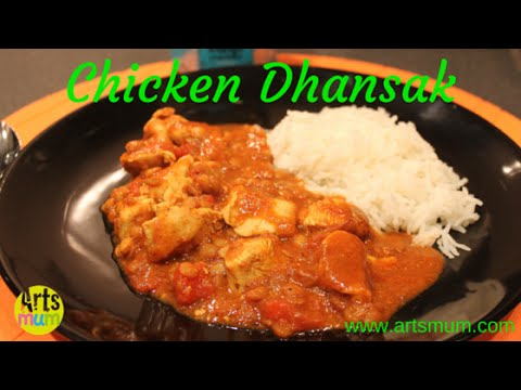 Chicken dhansak recipe easy