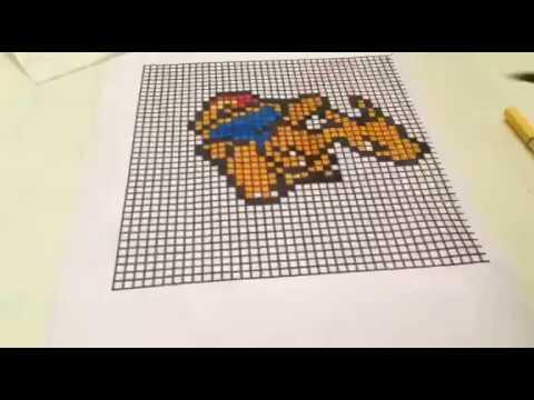 Pixel Art 4 Reptincel Youtube