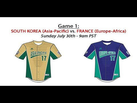 2017 LLIWS - Game 1: ASIA PACIFIC VS  EUROPE AFRICA