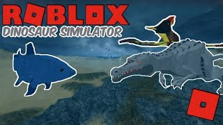 Roblox Dinosaur Simulator - TRES EPIC BATTLE! L'UNSTOPPABLE COELACANTH!