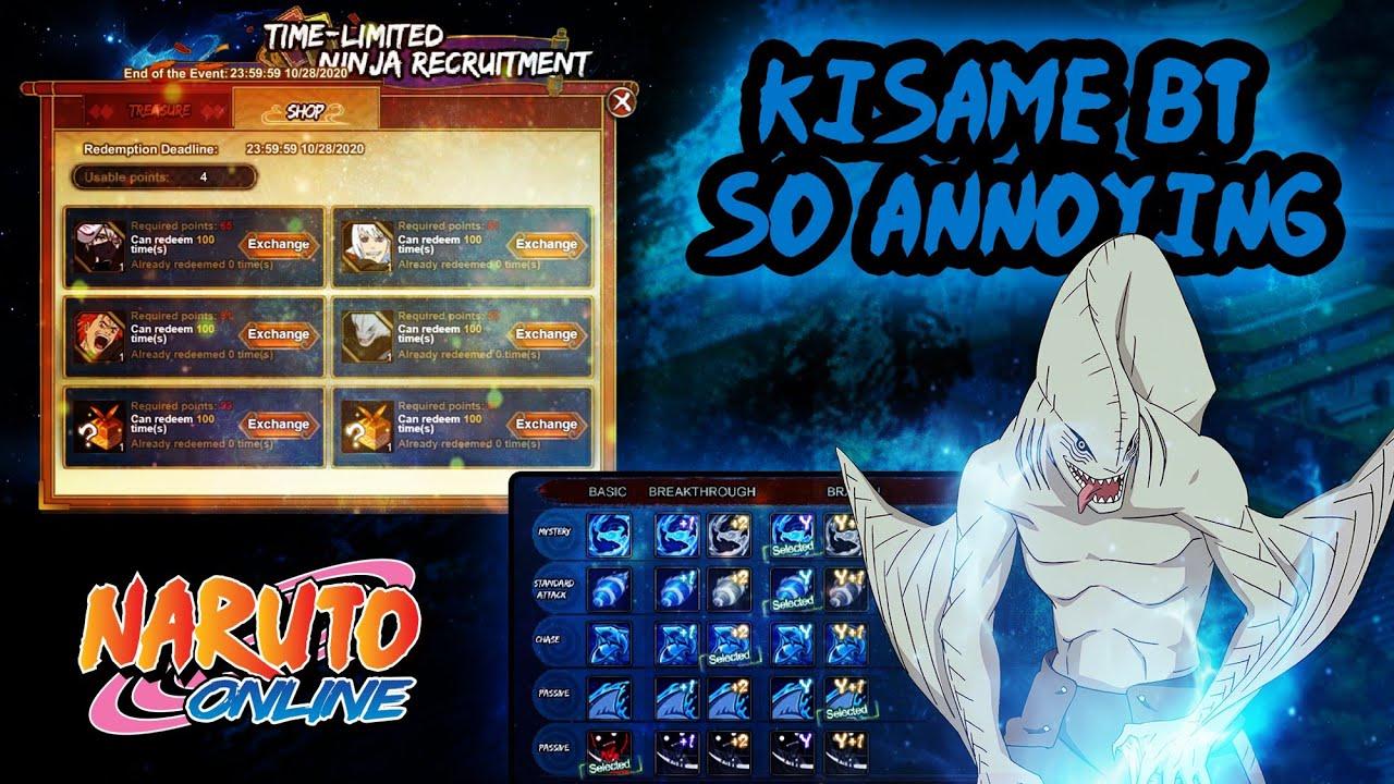 Fusion Kisame Breakthroughs are Terrifyingly Expensive || Naruto Online