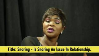 Is Snoring An Issue In Relationship?