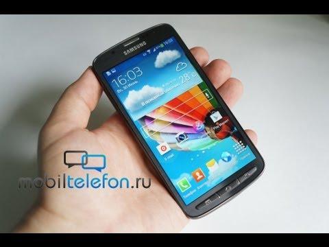 Обзор Samsung Galaxy S4 Active (review): защищенный от воды и пыли флагман