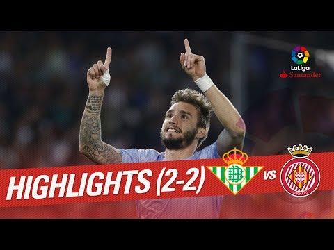 Resumen de Real Betis vs Girona FC (2-2)