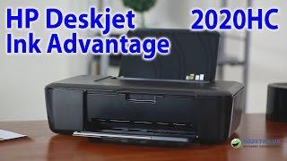 HP Deskjet Ink Advantage 2020HC: обзор принтера