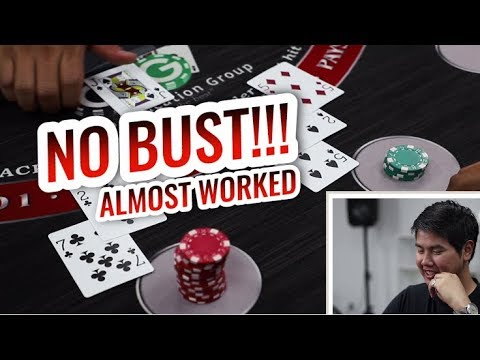 How GOOD Is NO BUST Blackjack Strategy Actually?!? Testing No Bust Blackjack #2