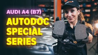 How to replace Brake pad set on AUDI Q5 (FY) - video tutorial