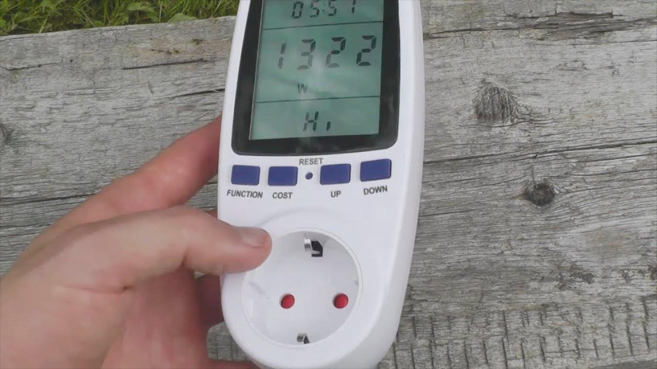 Сколько жрет холодильник? Поможет Power Meter. Обзор и тесты