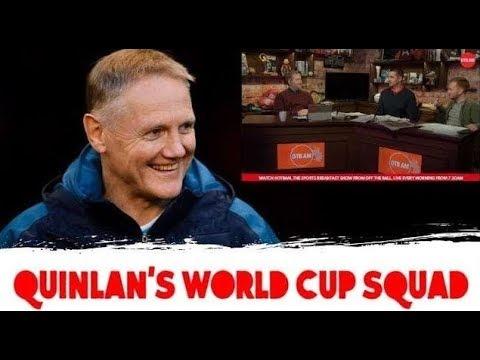 Alan Quinlan: World Cup squad | Criticising Munster | Ireland U20s