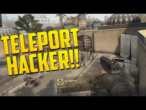 CS:GO TELEPORT HACKER! (CS:GO Overwatch Funny Moments)