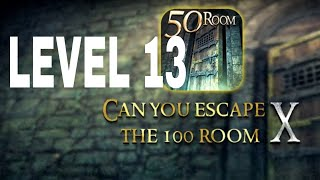 Can You Escape The 100 room X level 13  Walkthrough