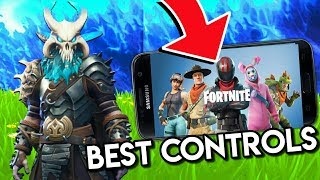 How to get the BEST CONTROLS for FORTNITE ANDROID!!
