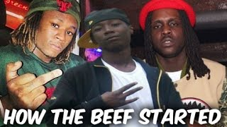 How Chief Keef & Lil Jay Rap Beef Started (2012-2015)