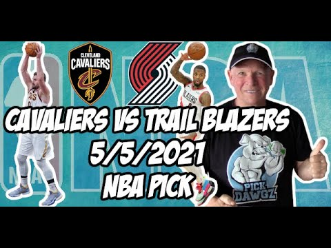 Cleveland Cavaliers vs Portland Trail Blazers 5/5/21 Free NBA Pick and Prediction NBA Betting Tips