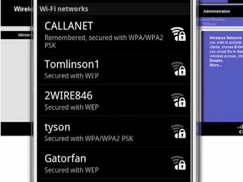how to delete an ssid android
