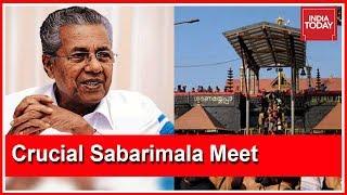 Kerala CM Calls For Crucial Sabarimala Meet Involving Devaswom Board & DGP