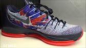 buy popular 616c5 7024e Nike KD V Christmas 開箱- YouTube