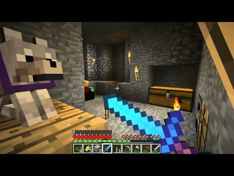 Minecraft Tornado Survival S1E4 Stage 4 Storm, Crossing the Line