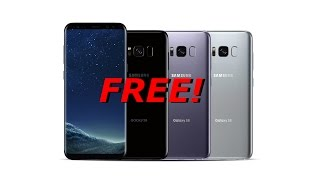 HOW TO GET A FREE GALAXY S8 NO SCAM!