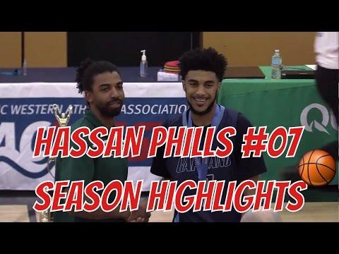 Hassan Phills Season Highlights - 6'3 Guard Capilano University