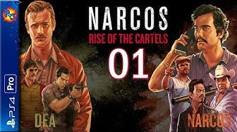 Let's Play Narcos: Rise of the Cartels | PS4 Pro Console DEA Gameplay Episode 1 (P+J)