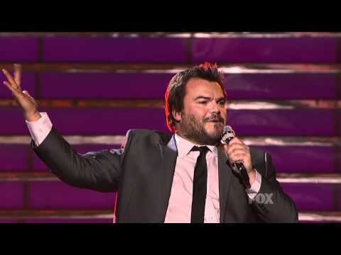 true HD Casey Abrams & Jack Black Fat Bottomed Girls ~ Finale American Idol 2011 May 25