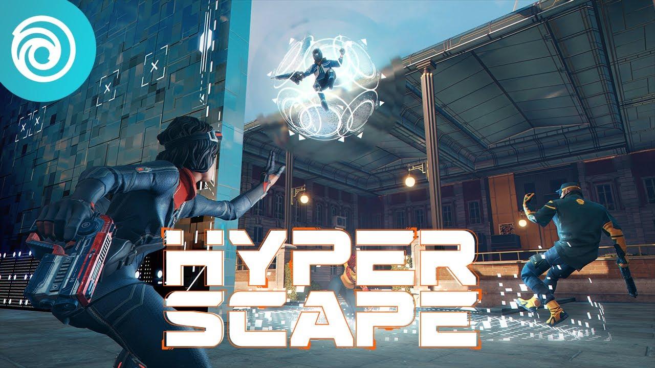 Hyper Scape: Zwiastun Trybu Hack Runner