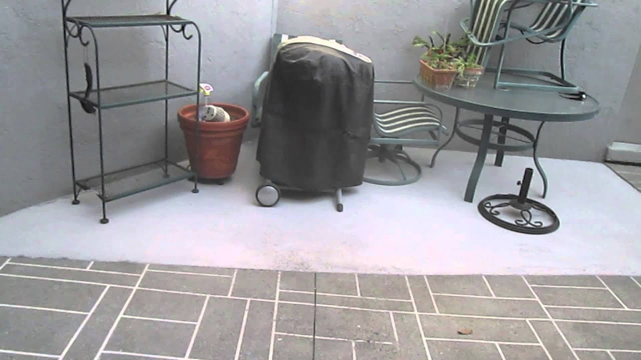Patio Concrete Overlay | Decorative Concrete Flooring | Concrete  Resurfacing Orlando