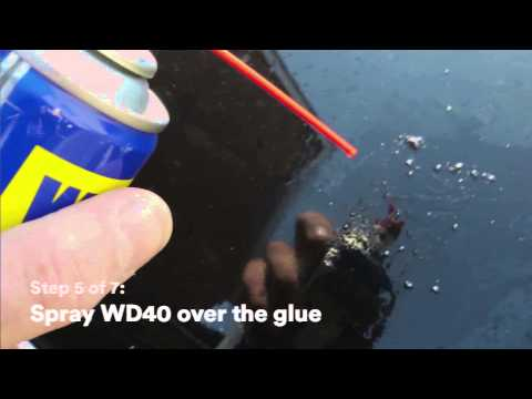 How to remove the front badge from a Citroen DS3