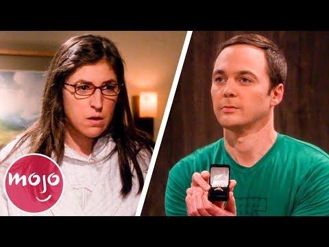 Top 10 Memorable Amy & Sheldon Moments