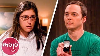 Top 10 Memorable Amy & Sheldon Moments
