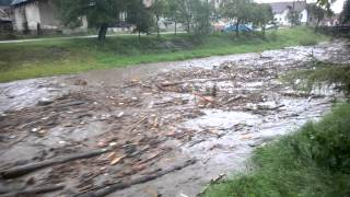 zaplava Straza / flood Straza,Slovakia