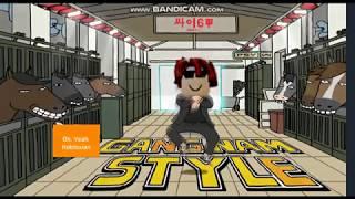 PSY - GANGNAM STYLE(강남스타일) M/V (Roblox Bacon Hair Version) (Original Version)