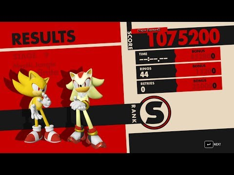 Sonic Forces: Super Sonic Transform For Boss Fight's And Super Shadow Partner Mod