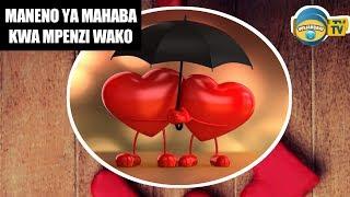 Ujumbe Mtamu Wa Mahaba Kwa Ajili Ya Mpenzi Wako