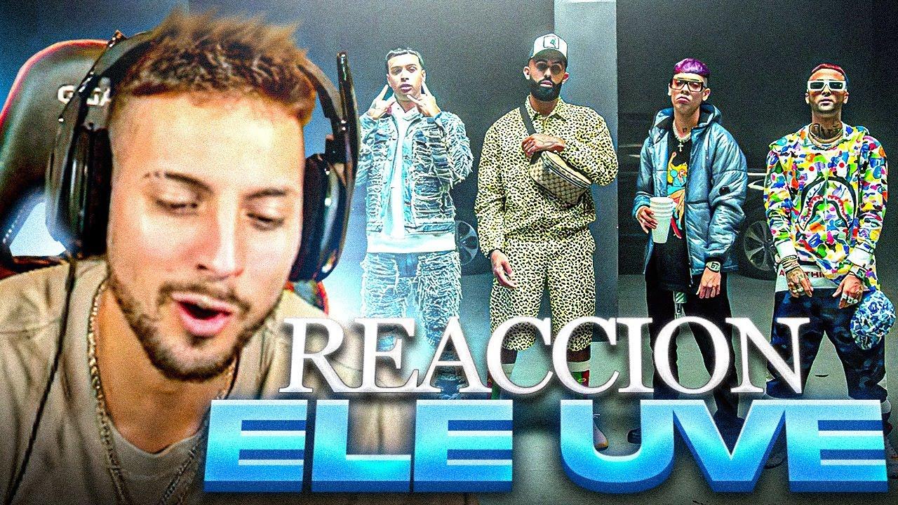 REACCIONANDO a Eladio Carrion x Natanael Cano x Ovi - Ele Uve ft. Noriel