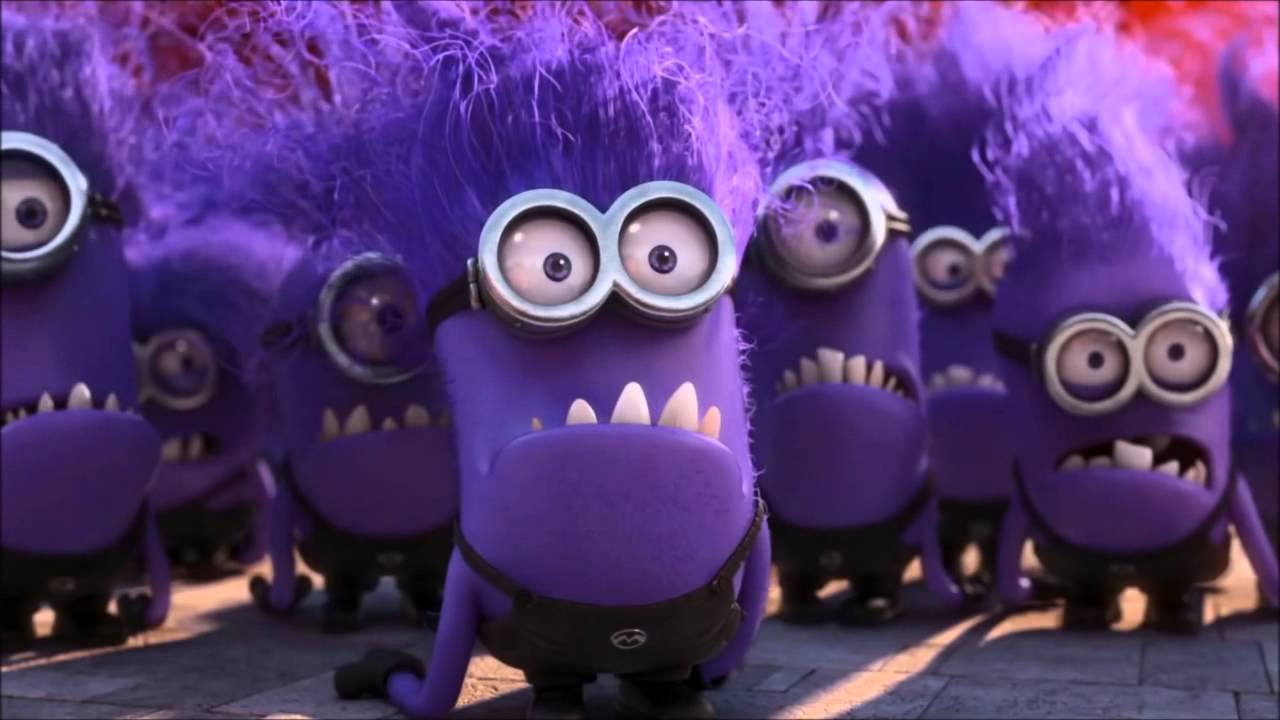 Minion Kevin Despicable Me 2 - 15 Minutes Evil Minions - Youtube