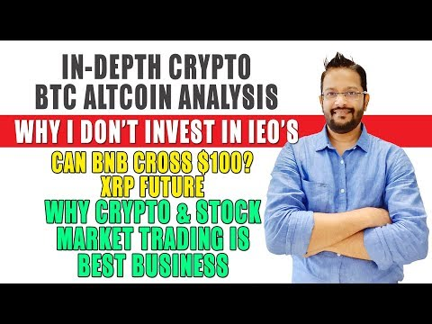 Latest Cryptocurrency Bitcoin Altcoins Analysis. Why Crypto & Stock Market is best Business. thumbnail