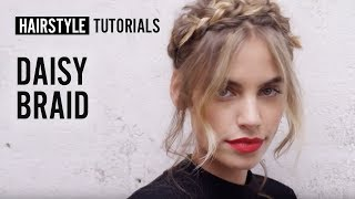 How to style daisy braid? by Siobhan Jones | L'Oréal Professionnel tutorials