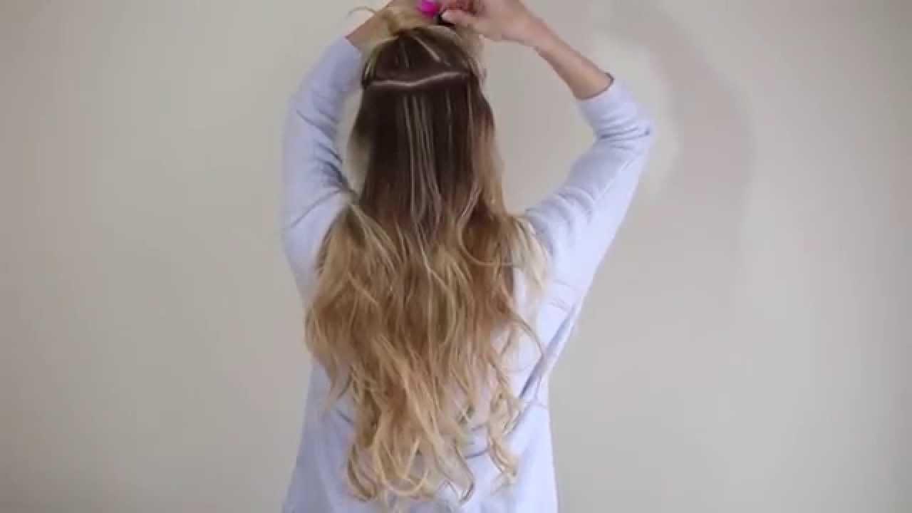 Купить волосы на заколках с рук